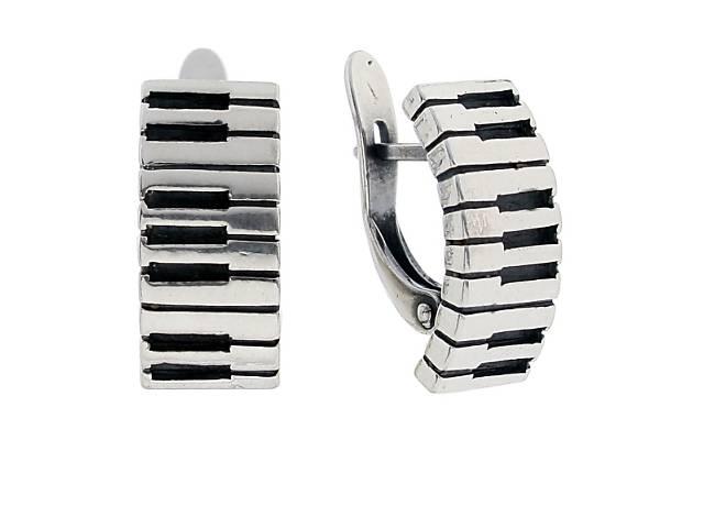 """Серьги """"Рояль"""" покрытые серебром (e2073190)- объявление о продаже  в Дубно"""