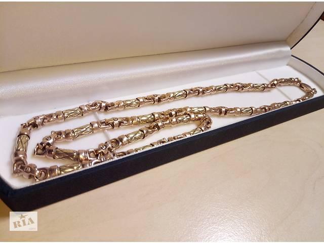 Золотая эксклюзивная мужская цепь - Ювелирные изделия и бижутерия в ... 46a2b7582896e