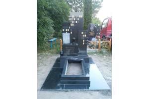 Гранитные памятники собственного производства, скульптура, продукция из камня Коростышев. Доставка и монтаж.