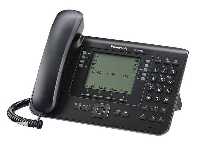 IP телефон PANASONIC KX-NT560RU-B- объявление о продаже  в Киеве