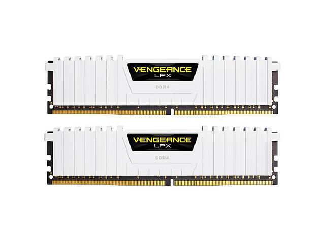 Модуль памяти для компьютера DDR4 16GB (2x8GB) 3200 MHz LPX White CORSAIR (CMK16GX4M2B3200C16W)- объявление о продаже  в Киеве