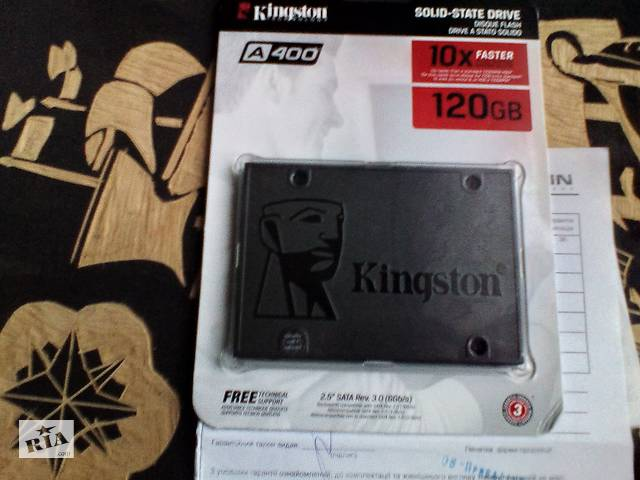"Нов диск ПК Ноутбук 2.5"" SSD 120GB Kingston SSDNow orig  МегаЦентр Гарантия 3года- объявление о продаже  в Чернигове"