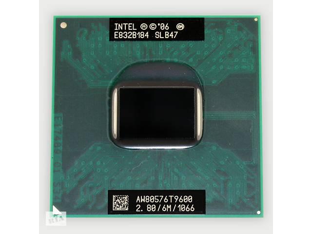 купить бу Процессор Intel Core 2 Duo T9600 (2.80 GHz, 6 MB) + термопаста в Николаеве