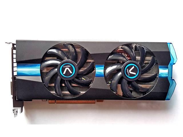 купить бу Sapphire AMD Radeon R7 370 4GB Vapor-X OC / 256bit / GDDR5 в Мирнограде (Димитров)