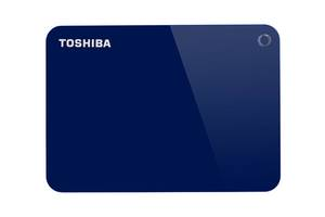 Накопитель внешний HDD 2.5 USB 1.0TB Toshiba Canvio Advance Blue (HDTC910EL3AA)