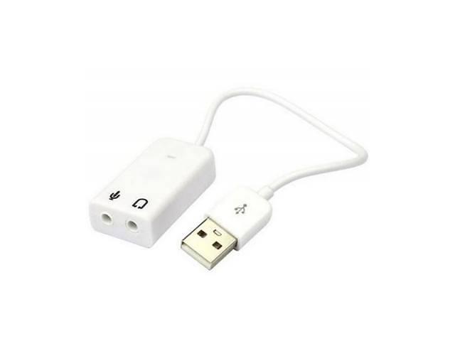 продам Звуковая плата Dynamode USB 8(7.1) каналов 3D RTL (USB-SOUND7-WHITE) бу в Киеве
