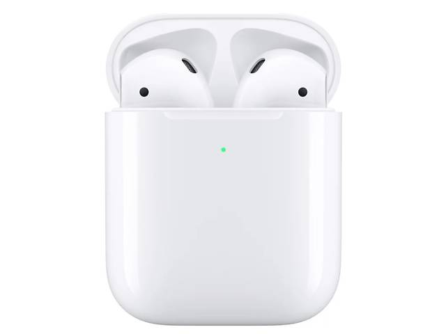 бу Apple AirPods2 with Wireless Charging Case White (MRXJ2) в Самборе