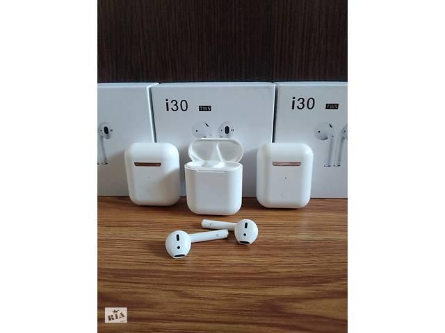 бу Беспроводные наушники i30 Apple AirPods11 с Pop Up и Беспроводной зарядкой в Чемеровцах