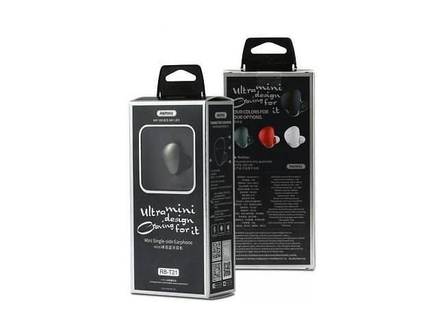 продам Bluetooth-гарнитура Remax RB-T21 Black (RB-T21BK) бу в Дружковке