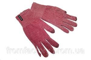 Перчатки для сенсорного экрана Decathlon (разные размеры) розовые:Размер L