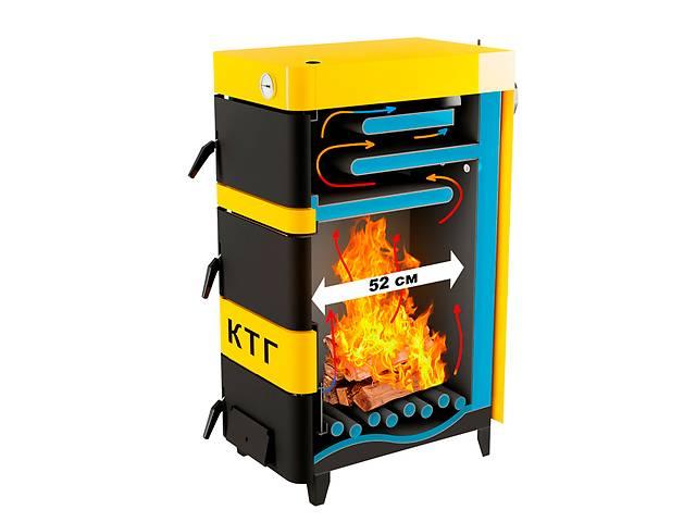 купить бу Котел на дровах 20 кВт тривалого горіння КТГ комфорт в Вінниці