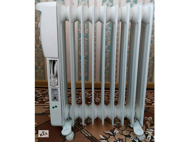 купить бу Масляный радиатор ZASS, электрообогреватель в Новой Водолаге
