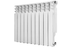 Радиатор алюминиевый Roda RAL-96/500 10 секций Белый (0302020219-100428991)