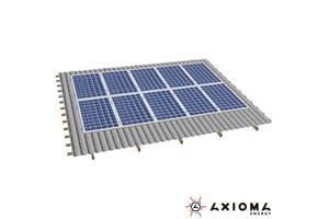 Система креплений на 10 солнечных панелей AXIOMA energy