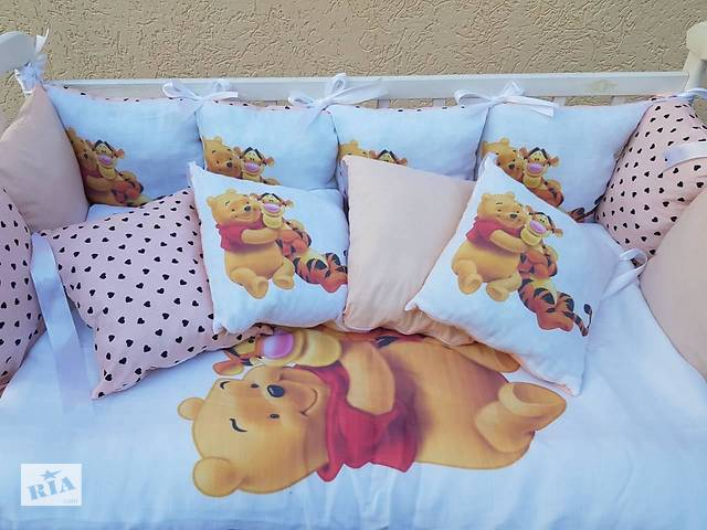 продам Детское постельное бельё в кроватку ТМ Bonna Принт (без балдахина или с балдахином) бу в Одессе
