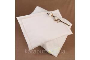 Подушка детская хлопковая плоская 40х60 см