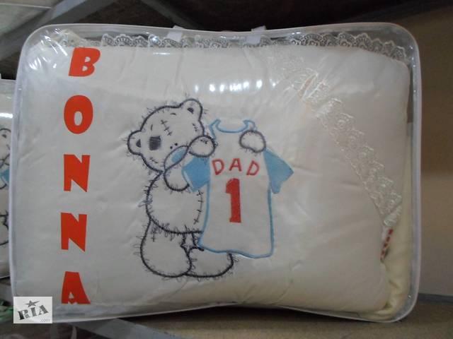 продам Постільна білизна для немовлят у ліжечко Bonna з вишивкою бу в Києві