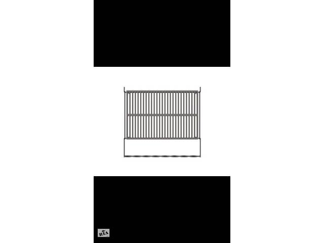 Чугунная решетка гриль bbq grill для мангала и барбекю 56х33.5 см.- объявление о продаже  в Киеве
