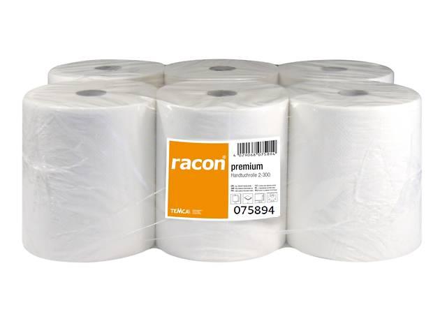 купить бу Полотенца бумажные в рулоне TEMCA Racon Premium, 20,3см х 3 в Киеве