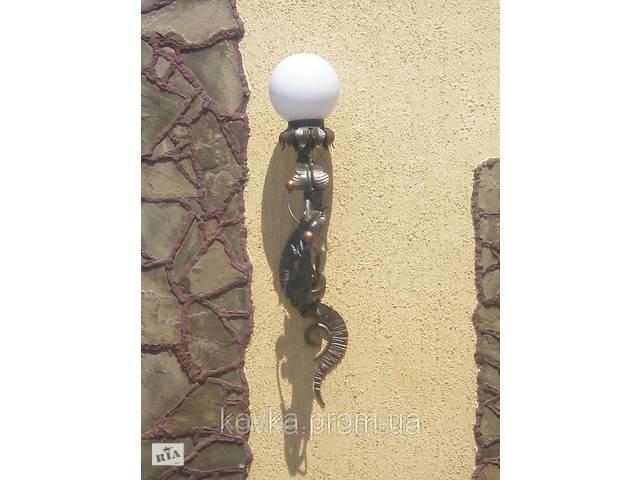 продам Кованый светильник с плафоном бу в Ладыжине