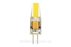 Світлодіодна лампа Biom G4 3.5 W 2800К 220V в силіконі Код.58696