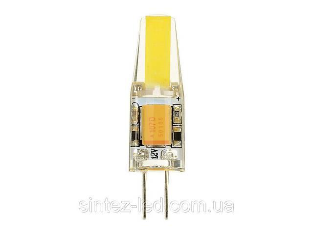 продам Светодиодная лампа Biom G4 3.5W 2800К 220V в силиконе Код.58696 бу в Киеве