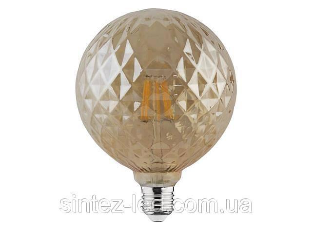 продам Светодиодная лампа Эдисона Filament VINTAGE TWIST-6 6W D125 Е27 2200K (мат.золото) Код.58960 бу в Киеве