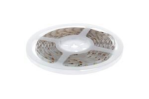 Светодиодная лента, 4.8Вт/60LED/м, свет тёплый белый, IP65 Wolta 13773408