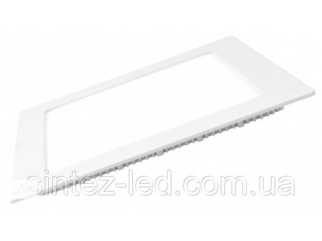 бу Светодиодная панель Eurolamp LED-PLS-6/3 6W 3000K (квадрат.бел.) Код.57888 в Киеве