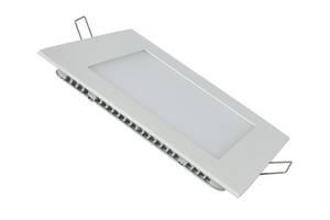 Светодиодная панель SL448S 12W 4000K  квадрат белый Код.58453