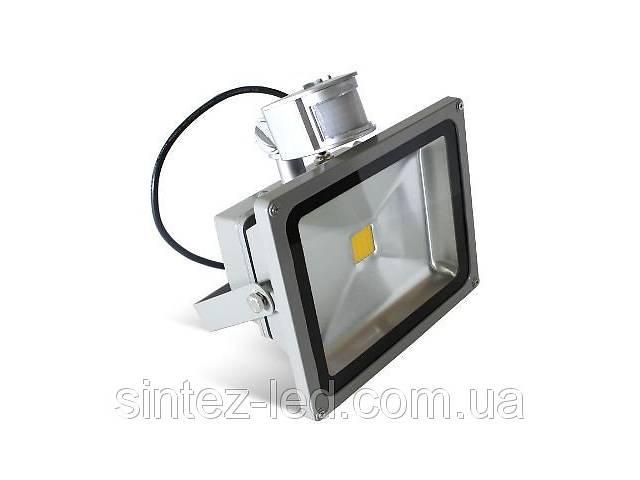 купить бу Светодиодный прожектор LMPS-20 IP44 6500K с датчиком движения Код.57131 в Киеве
