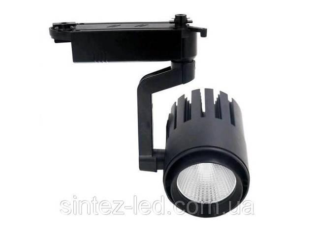 бу Светодиодный трековый светильник SL 30TRL/CW2 30W 6000К черный Код.58563 в Киеве