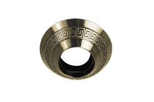 Точечный светильник круг д.110 мм Греция, античная бронза A008-AB