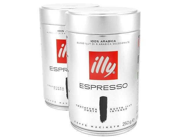 бу  Illy Espresso Dark кофе молотый, 100% премиум арабика  в Черновцах
