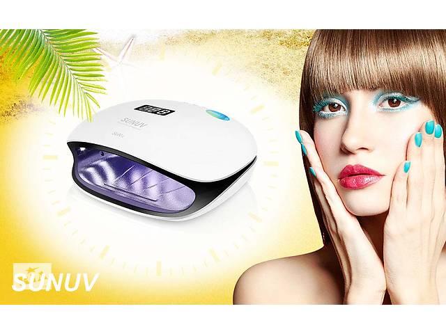 продам Sun4 48Вт Smart nail lamp 2.0 гібридна уф лампа лід сушіння нігтів UV LED lamp 48W uvled4 Sunuv4 sun 4 бу в Ровно