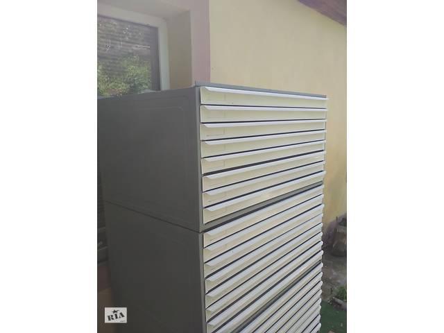 продам Архивные ящики-блоки стеллажей с выдвижными поддонами железные бу в Николаеве