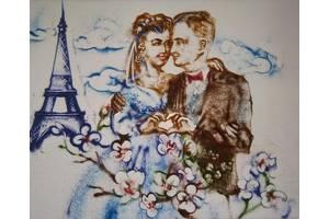песочная анимация онлайн на вашей свадьбе с авторской поэзией