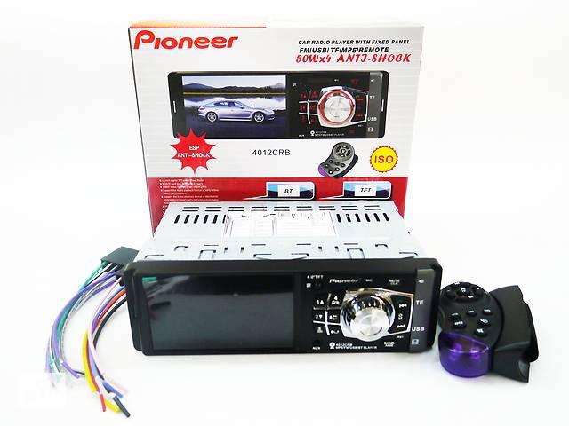 купить бу Автомагнитола Pioneer MP5 4012 + Bluetooth + пульт на руль, в Днепре (Днепропетровск)