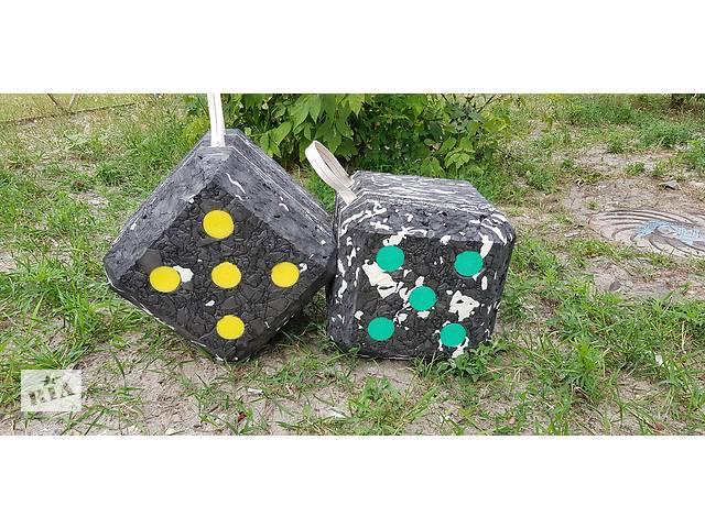 купить бу Мишень куб-изолон для стрельбы из лука и арбалета.  в Киеве