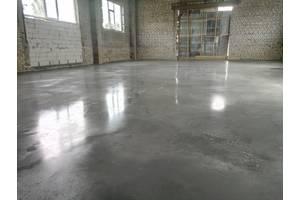 Бетонуємо промислові (топпінговие) підлоги.