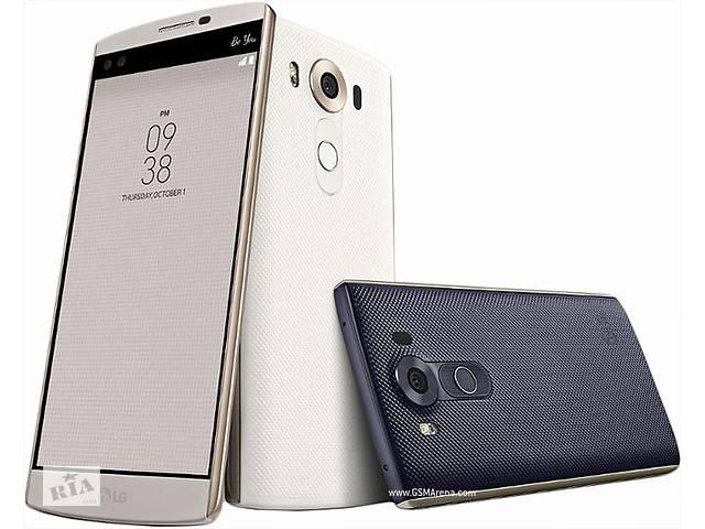 продам LG V10. 5.7'' RAM4GB ROM64GB 5и16mPix 6ядер Qualcomm808 Чёрный Белый бу в Кропивницком (Кировоград)