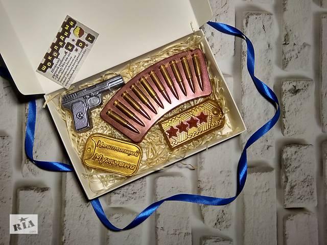 купить бу Шоколадные подарки для мужчин на 14 октября - день защитника в Киеве