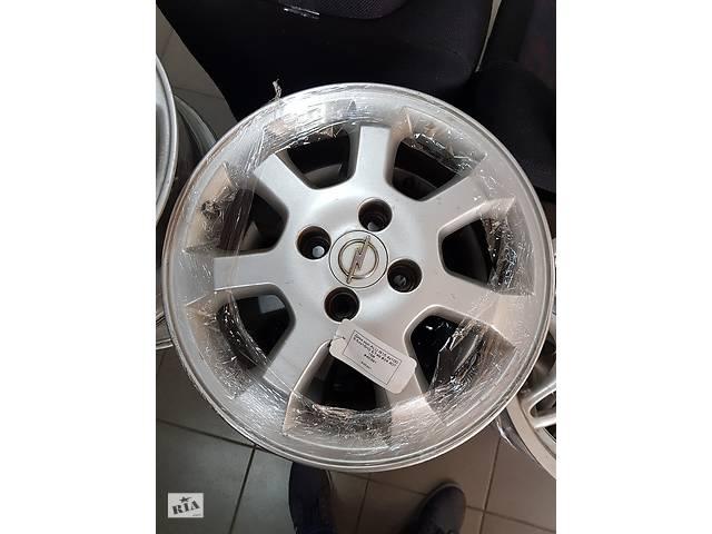 купить бу Б/у диски титаны для Opel Astra G Zafira Lanos R15 4 100 ET49 6.5J оригинал GM цена за комплект привезены с Германии в Решетилівці