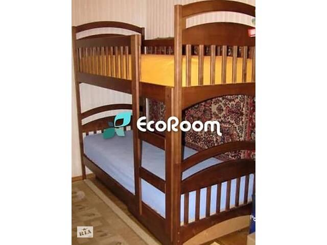 Двухьярусная кровать трансформер Карина  из ольхи- объявление о продаже  в Киеве