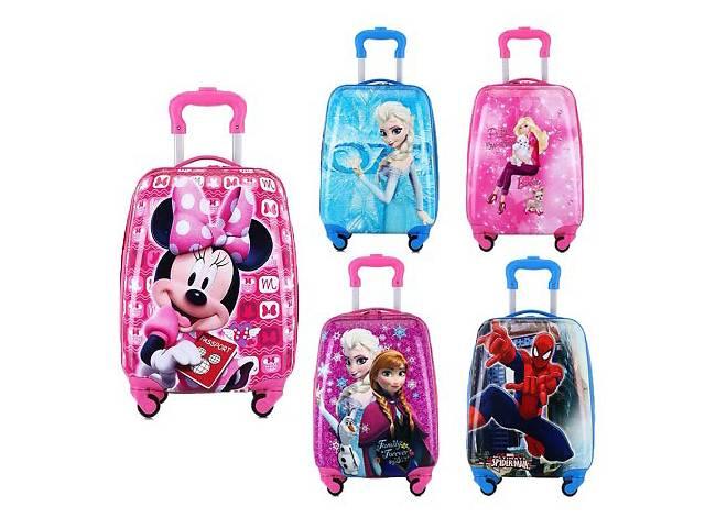 купить бу Детский чемодан на подарок для мальчика,для девочки чемодан на колесах в Харькове