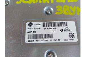 Автоусилитель / Усилитель звука/ Автозвук 3AA 035 456 Volkswagen Passat B7 / Passat CC 2010-2017 (220819)