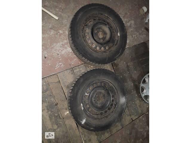 продам Колёса в сборе Nokian 195\65 R15 и дисками 5\110 ЕТ33 бу в Чернигове