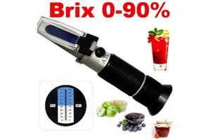 Рефрактометр для вимірювання цукру в сиропах 0-90% Brix АТС тестер вимірювач цукристості