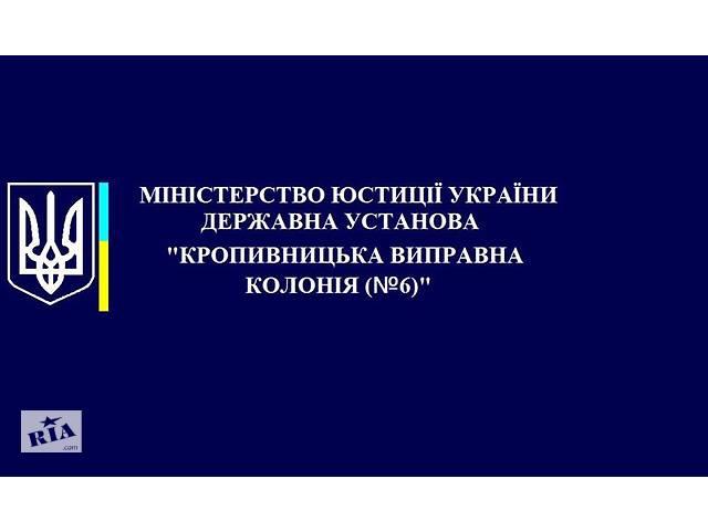 купить бу Кропивницкая исправительная колония №6  в Украине