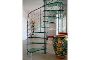 Сходи, перила, поручні, виготовлення та встановлення